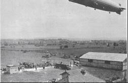"""L'aérodrome de Montélimar-Ancône reçoit la visite du""""Graf Zeppelin"""""""