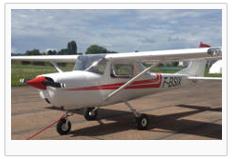 Le Cessna 150 de l'Aéroblub de Montélimar Porte de Provence